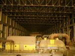 Turbine hall in the powerstation