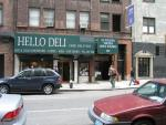 The Hello Deli of David Letterman show