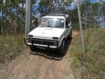 The Lada goes off-road